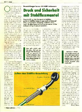 Druck und Sicherheit mit Stahlflexmantel
