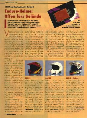 Enduro-Helme: Offen fürs Gelände
