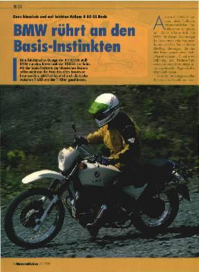 BMW rührt an den Basis-Instinkten