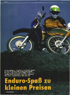 Enduro-Spaß zu kleinen Preisen