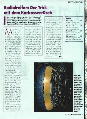 Radial-Reifen: Der Trick mit dem Karkassen-Dreh