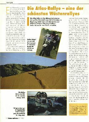 Die Atlas-Rallye - eine der schönsten Wüstenrallyes