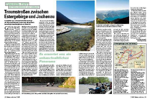 Traumstraßen zwischen Estergebirge und Jachenau