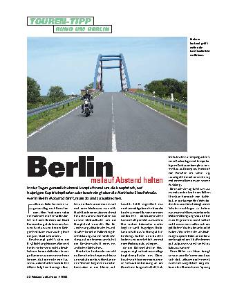 Berlin mal auf Abstand halten