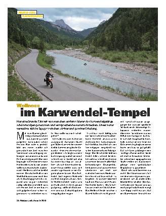 Wellness im Karwendel-Tempel