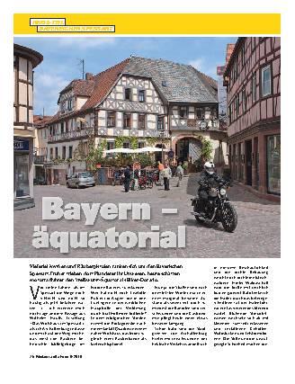 Bayern - äquatorial