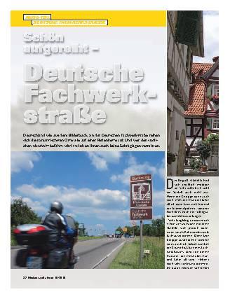 Schön aufgereiht - Deutsche Fachwerkstraße