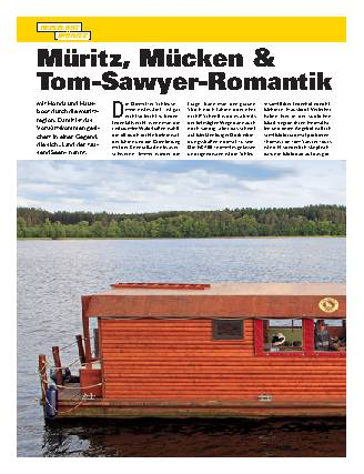 Müritz, Mücken & Tom-Sawyer-Romantik