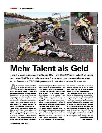 Mehr Talent als Geld
