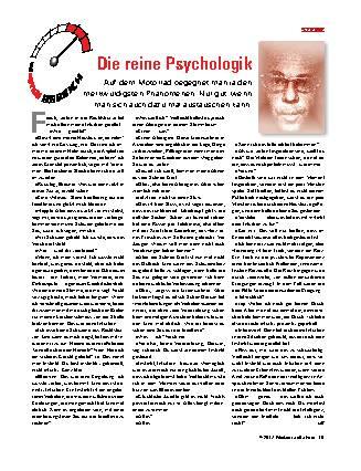 Die reine Psychologik