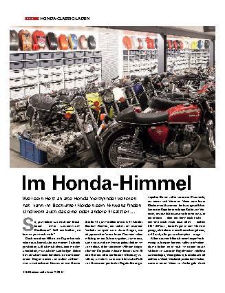 Im Honda Himmel