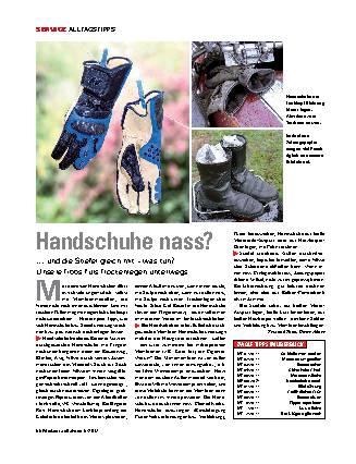 Handschuhe nass?