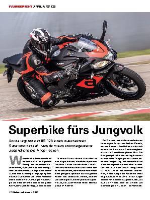 Superbike fürs Jungvolk