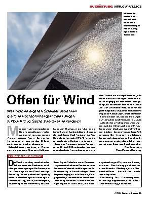 Offen für Wind
