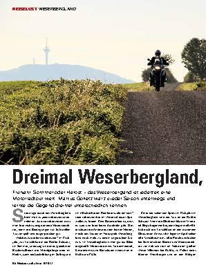 Dreimal Weserbergland, bitte