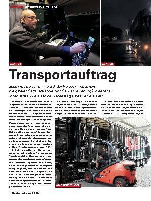 Transportauftrag