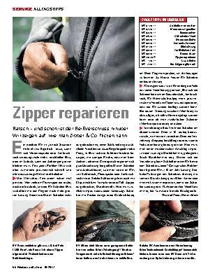 Zipper reparieren