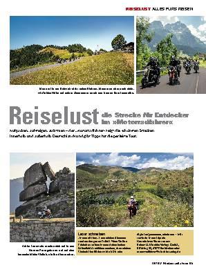 Reiselust - die Strecke für Entdecker im »Motorradfahrer«