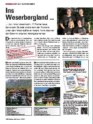 Ins Weserbergland ...