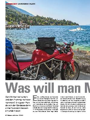 Was will man Meer?