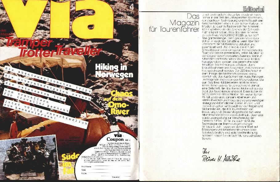 Editorial - Das Magazin für Motorradfahrer