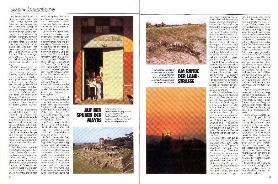 Leser-Reportage - Wo Mexiko noch ein Abenteuer ist