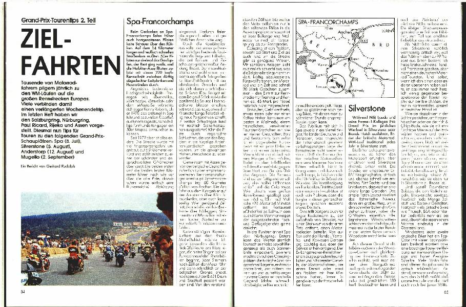 Grand-Prix-Tourentips 2 . Teil
