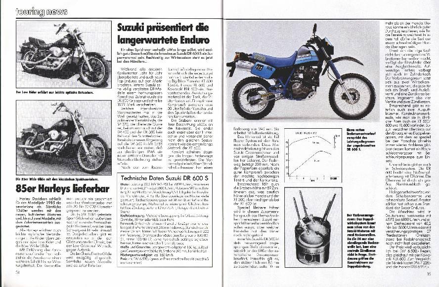 Suzuki präsentied die langerwartete Enduro