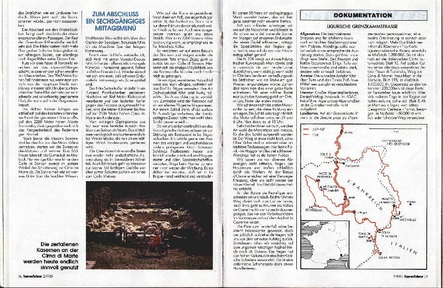Ligurische Grenzkammstrasse