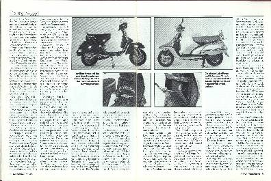 Vespa PX 200 E Lusso/Yamaha XC 180 Cygnu