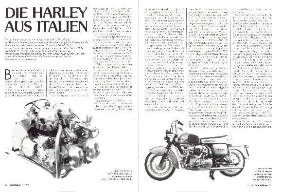 Die Harley aus Italien