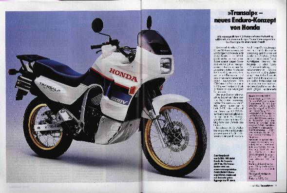 Honda Transalp 600 V