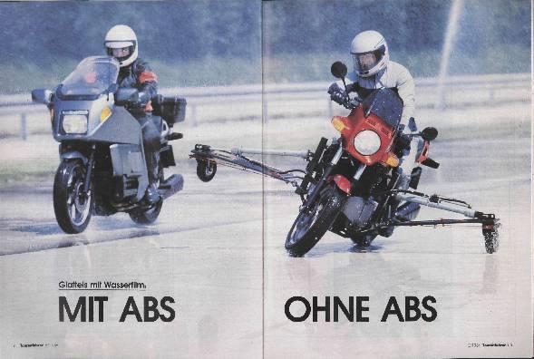 Mit ABS- Ohne ABS