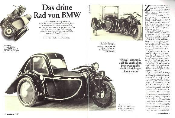 Das dritte Rad von BMW