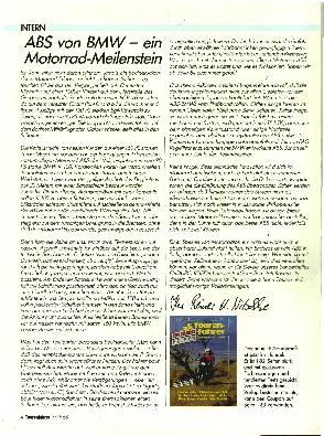 ABS von BMW - ein Motorrad-Meilenstein