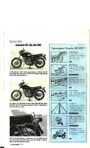 Yamaha SR 500 T