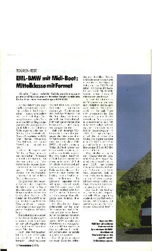 EML-BMW mit Midi-Boot