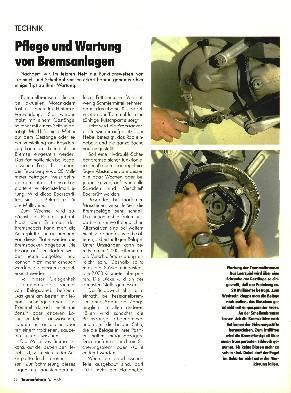 Pflege und Wartung von Bremsanlagen