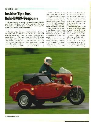 Bals-BMW-Gespann