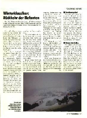 Winterikassiker - Rückkehr der Elefanten