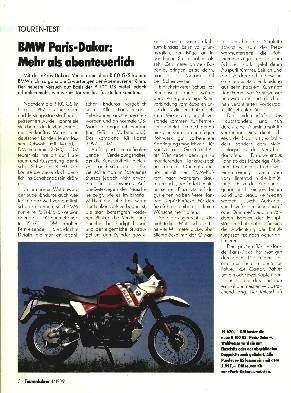 BMW R 100 GS Paris-Dakar