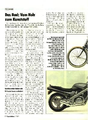 Das Rad - Vom Holz zum Kunststoff