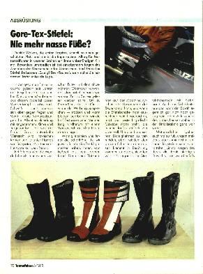 Ausrüstung Gore-Tex-Stiefel - Nie mehr nasse Füße