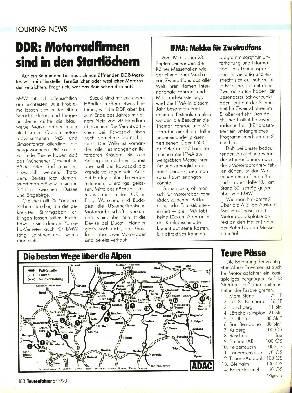 DDR - Motorradfirmen sind in den Star