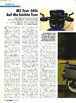 MZ Tour 500