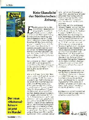Kein Glanzlicht der Süddeutschen Zeitung