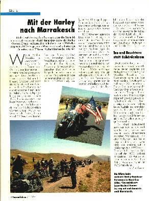 Mit der Harley nach Marrakesch