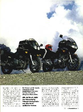 Yamaha XJ 900 S/Triumph Sprint 900