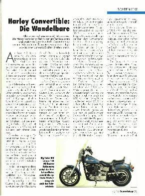 Harley-Davidson Convertible