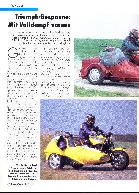Gespanne-Triumph-Gespanne: Mobec-/ Hedingham